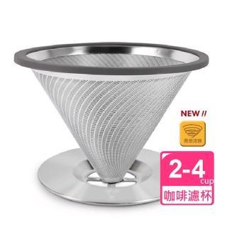 【Driver】黃金流速不鏽鋼咖啡濾杯(2-4cup) 推薦  Driver