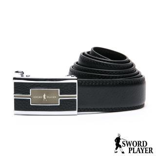 【SWORD PLAYER】莎普爾佩皮款皮革式自動扣皮帶推薦折扣  SWORD PLAYER
