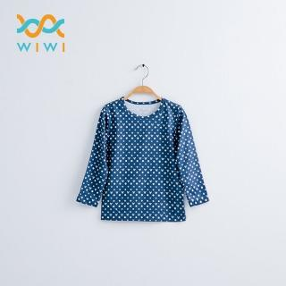 【WIWI】經典米奇溫灸刷毛圓領發熱衣 童/三色 100-150強力推薦  WIWI