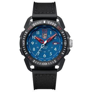 【LUMINOX 雷明時】ICE-SAR Arctic冰島搜救隊聯名腕錶(藍x白時標/45mm)  LUMINOX 雷明時