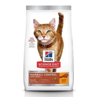 【Hills 希爾思】1-6歲 成貓 生活照護 毛球控制 低卡 雞肉配方(7磅 貓飼料 送贈品) 推薦  Hills 希爾思
