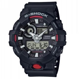 【CASIO 卡西歐】G-SHOCK 絕對強悍系列/53mm/黑(GA-700-1A) 推薦  CASIO 卡西歐