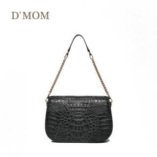 【DMOM】名媛派對鱷魚包-黑  DMOM
