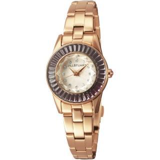 【JILL STUART】Prism Mini系列晶鑽時尚錶款(玫瑰金/紫鑽 JISILDJ004)真心推薦  JILL STUART