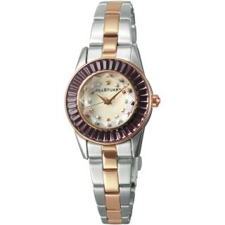 【JILL STUART】Prism Mini系列晶鑽時尚錶款(銀/玫瑰金/紫鑽 JISILDJ005)好評推薦  JILL STUART