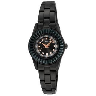 【JILL STUART】Prism Mini系列晶鑽時尚錶款(黑 JISILDJ002)  JILL STUART