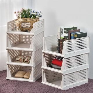 【ikloo 宜酷屋】日系可疊式抽取收納箱(6大送1小超值組)好評推薦  ikloo 宜酷屋
