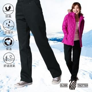 【遊遍天下】女款保暖防風刷毛長褲(L-2L)  遊遍天下