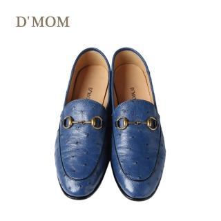 【DMOM】歐洲限定手工鴕鳥鞋(丈青色)推薦折扣  DMOM