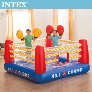 【INTEX】NO1大型充氣拳擊場-附4個手套_48250(送110V幫浦_66639)強力推薦  INTEX