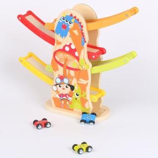 【KCFriends】怪獸賽車趣(木製滑行賽車)  KCFriends