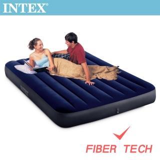 【INTEX】經典雙人_新款FIBER TECH_充氣床墊-寬137cm(64758)好評推薦  INTEX