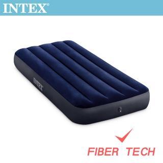 【INTEX】經典單人_新款FIBER TECH_充氣床墊-寬76cm(64756)好評推薦  INTEX