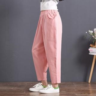 【KEITH-WILL】青春花漾素色長褲 2XL(共1色)  KEITH-WILL