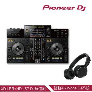 【Pioneer 先鋒】XDJ-RR 雙軌All-In-One DJ系統+HDJ-S7貼耳式專業DJ監聽耳機超值組好評推薦  Pioneer 先鋒