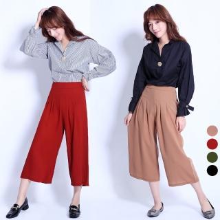 【Abbie】韓版時尚修身顯瘦寬褲(現貨熱銷中) 推薦  Abbie