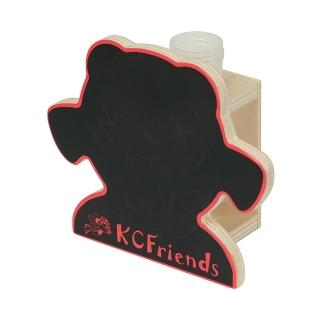 【KCFriends】C妹花瓶(木製DIY)  KCFriends