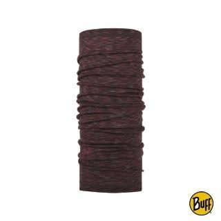 【BUFF】舒適條紋WOOL頭巾-頁岩紅(BF117819-923)強力推薦  BUFF