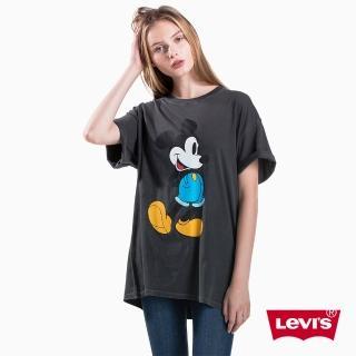 【LEVIS】Levis x MICKEY聯名 / 長版TEE / 黑色  LEVIS