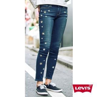 【LEVIS】711 中腰緊身窄管牛仔長褲 / 亞洲版型 / 金銀繡線(熱銷修身版型)  LEVIS