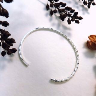 【ART64】光影迴旋 純銀C型手環推薦折扣  ART64