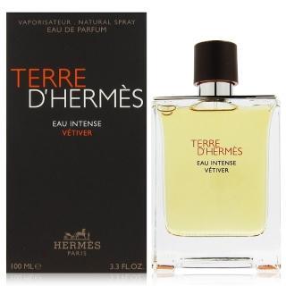 【Hermes 愛馬仕】大地馥郁香根草 淡香精100ml(法國進口)強力推薦  Hermes 愛馬仕