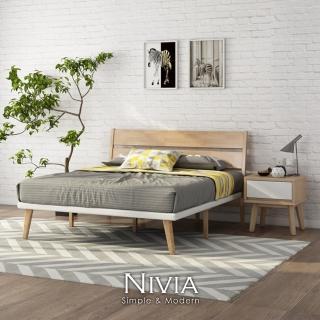 【obis】Nivia北歐實木床架 推薦  obis