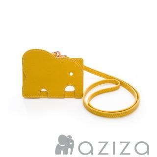 【AZIZA】小象證件套(黃)強力推薦  AZIZA