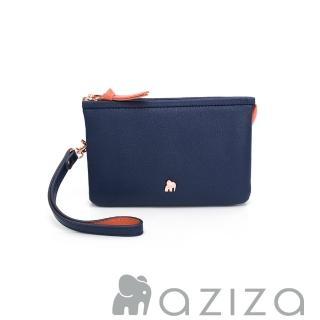 【AZIZA】BERYL 斜背手拎包-小(藍)真心推薦  AZIZA