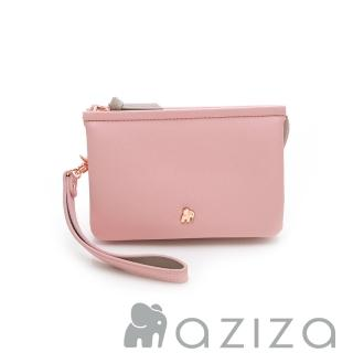 【AZIZA】BERYL 斜背手拎包-小(粉)  AZIZA