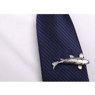 【拉福】領帶夾福魚領夾帶領夾(附盒)  拉福