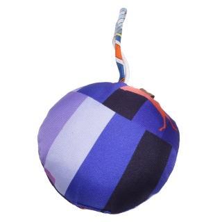 【Hermes 愛馬仕】Ornament silk真絲抱枕造型掛/吊飾(紫H022238-PURPLE)好評推薦  Hermes 愛馬仕