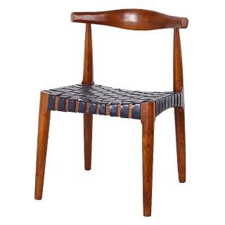 【AS】所羅門淺胡桃色餐椅-53x49x75cm好評推薦  AS
