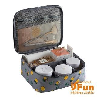 【iSFun】立體鋪棉*動物盥洗化妝箱包/多色可選  iSFun