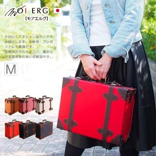 【MOIERG】Poeta青春史詩Suitcase-M-14吋-6色可選(復古皮革手提箱)好評推薦  MOIERG