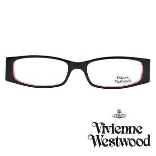 【Vivienne Westwood】光學鏡框時尚英倫龐克風-黑+粉177 02(黑+粉-VW177 02) 推薦  Vivienne Westwood