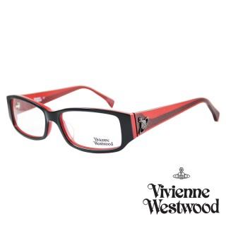 【Vivienne Westwood】光學鏡框英倫龐克風-紅-VW189 04(紅-VW189 04)  Vivienne Westwood