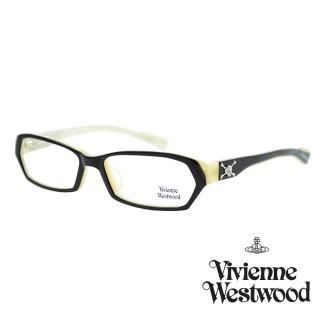 【Vivienne Westwood】光學鏡框英倫龐克風-黑白-VW190 03(黑白-VW190 03)好評推薦  Vivienne Westwood