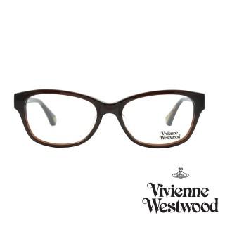 【Vivienne Westwood】光學鏡框英倫風-混咖-VW349V 02(混咖-VW349V 02)  Vivienne Westwood