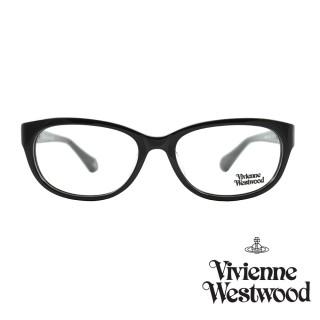 【Vivienne Westwood】光學鏡框英倫風-黑-VW353V 01(黑-VW353V 01)  Vivienne Westwood