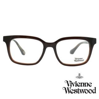 【Vivienne Westwood】光學鏡框英倫風-咖啡-VW356V 03(咖啡-VW356V 03)  Vivienne Westwood