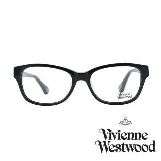 【Vivienne Westwood】光學鏡框經典英倫風-黑-VW349 V01(黑-VW349 V01)  Vivienne Westwood