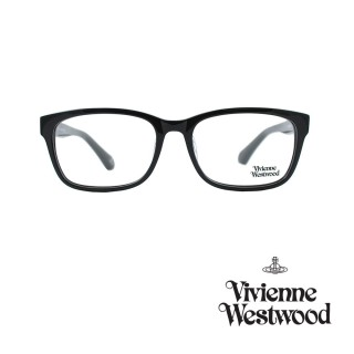 【Vivienne Westwood】光學鏡框經典英倫風-黑-VW355 V01(黑-VW355 V01)  Vivienne Westwood