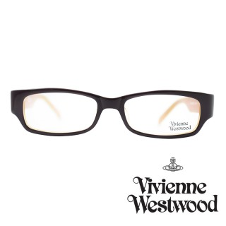 【Vivienne Westwood】光學鏡框英倫龐克風-黑橘-VW191 03(黑橘-VW191 03)推薦折扣  Vivienne Westwood