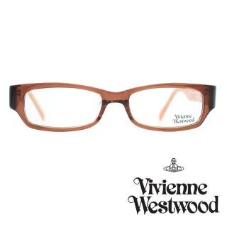 【Vivienne Westwood】光學鏡框英倫龐克風-透褐-VW191 04(透褐-VW191 04)  Vivienne Westwood