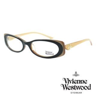 【Vivienne Westwood】光學鏡框英倫風-黑金-VW198 01(黑金-VW198 01)好評推薦  Vivienne Westwood
