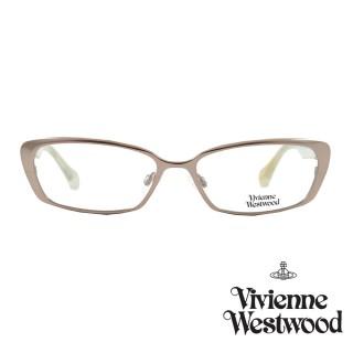 【Vivienne Westwood】光學鏡框典雅英倫風-玫瑰金-VW287V 04(玫瑰金-VW287 V04)強力推薦  Vivienne Westwood