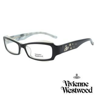 【Vivienne Westwood】光學鏡框造型款英倫風-黑白-VW160 03(黑白-VW160 03)真心推薦  Vivienne Westwood