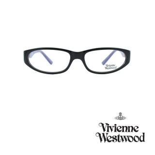 【Vivienne Westwood】光學鏡框龐克鑽飾英倫風-黑紫-VW164 02(黑紫-VW164 02)  Vivienne Westwood