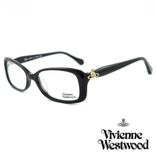 【Vivienne Westwood】光學鏡框經典優雅款英倫風-黑-VW289 01(黑-VW289 01)強力推薦  Vivienne Westwood
